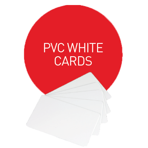 Evolis PVC White Card