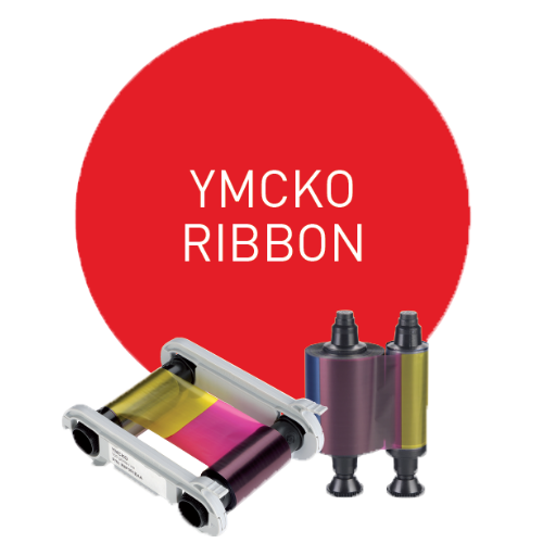 Evolis YMCKO Ribbon