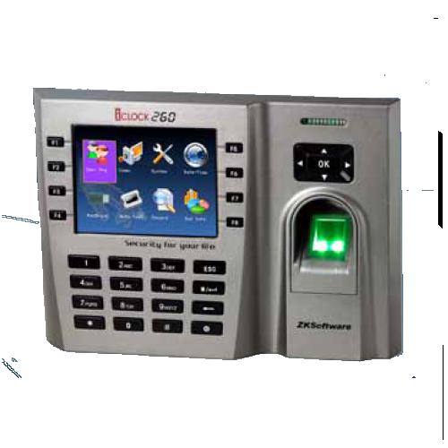 ZK Technology  iClock 260