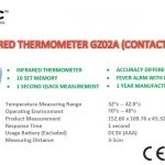 INFRARED THERMOMETER GZ02A