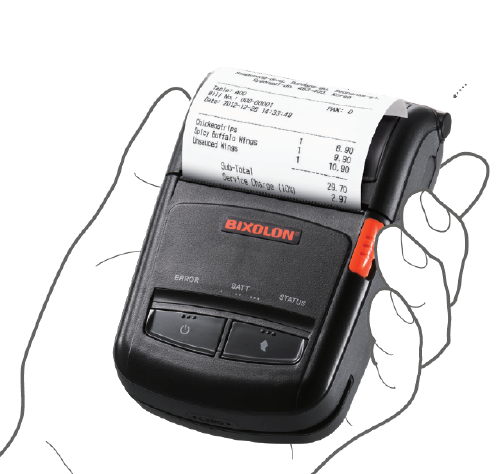 Bixolon – SPP-R210IK 2'' inch Thermal Mobile Printer